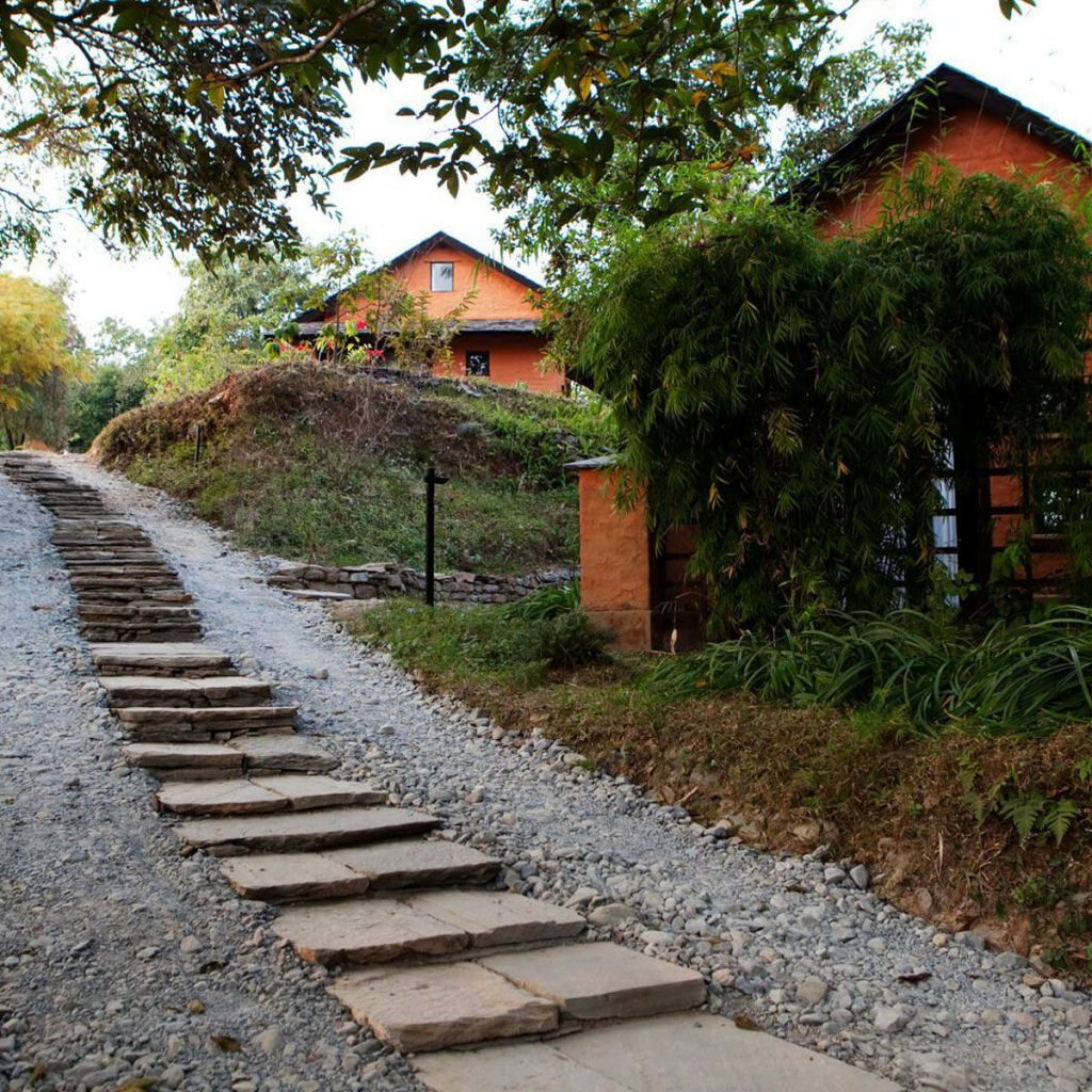 Ecotourism lodge in Pokhara
